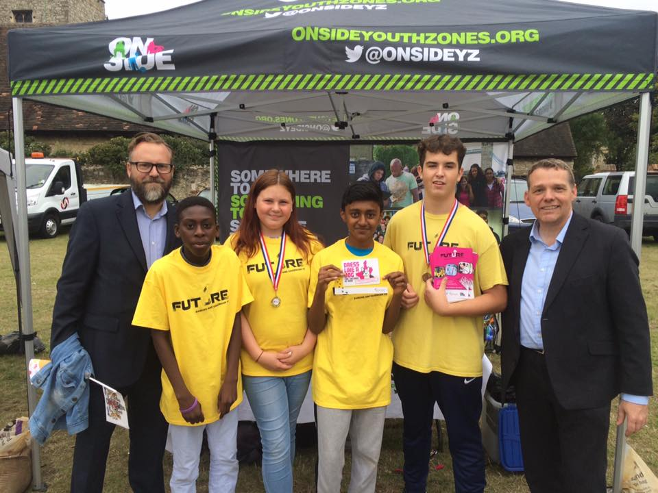 Young people spread the word at Youth Parade