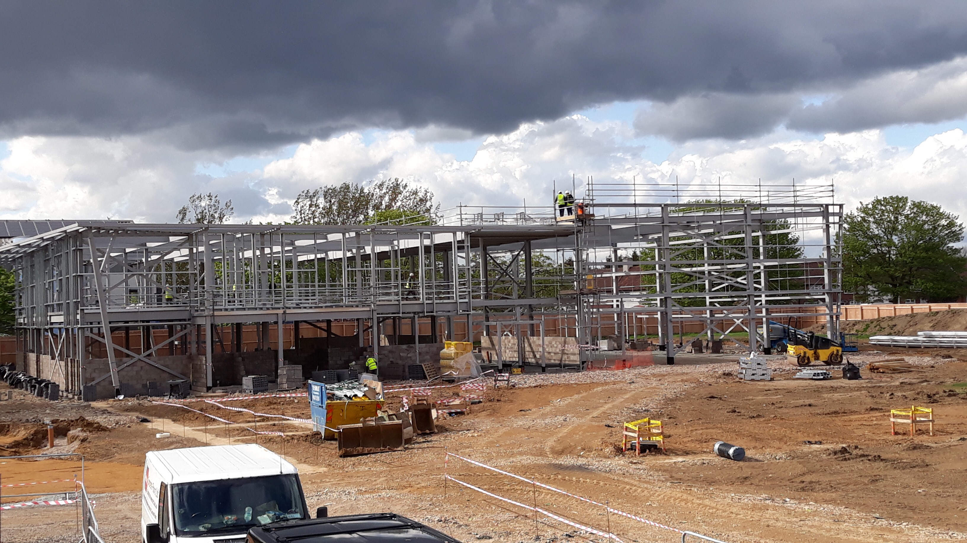 Future Youth Zone Steel Frame